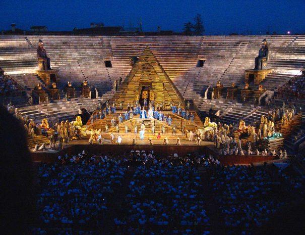 Arena di Verona AIDA von Giuseppe-Verdi