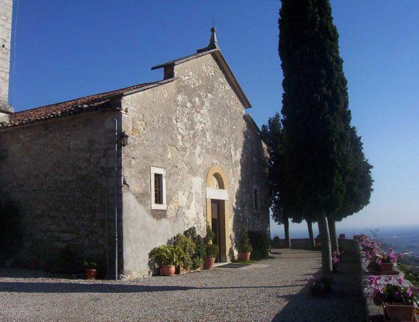 Facciata della Chiesa di Santa Maria Valverde Marano