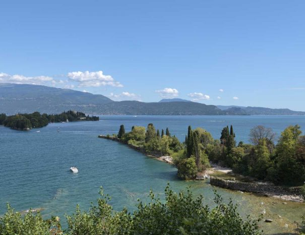 Lago di Garda isola Borghese