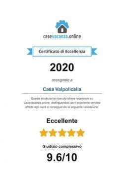 2020_Certificato-d'eccellenza---Casa-Valpolicella(1)-1